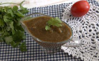 Армянская аджика с кинзой для шашлыка, картофеля, колбасок и отбивных