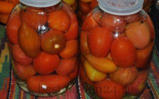 Квашеные помидоры в банках как бочковые