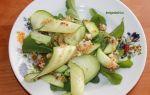 Салат с рукколой и огурцом — рецепт с фото простой и вкусный