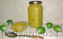Фейхоа с медом — рецепт без варки на зиму