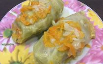 Голубцы из индейки — вкусные и сочные на сковороде