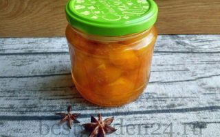 Варенье из абрикосов с бадьяном