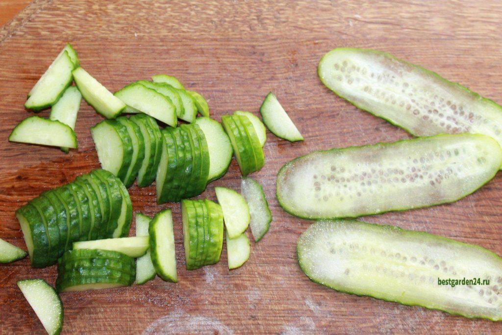 Огурец для салата