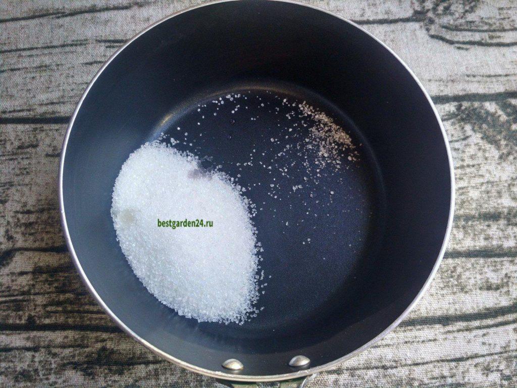 Сахар для сиропа варенья