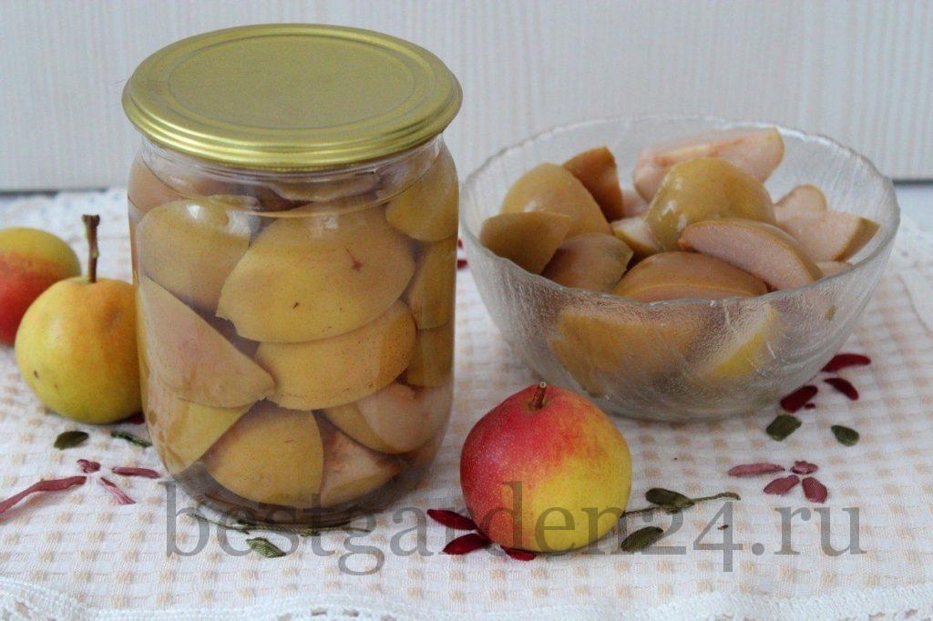 Заготовки на зиму груши в сиропе