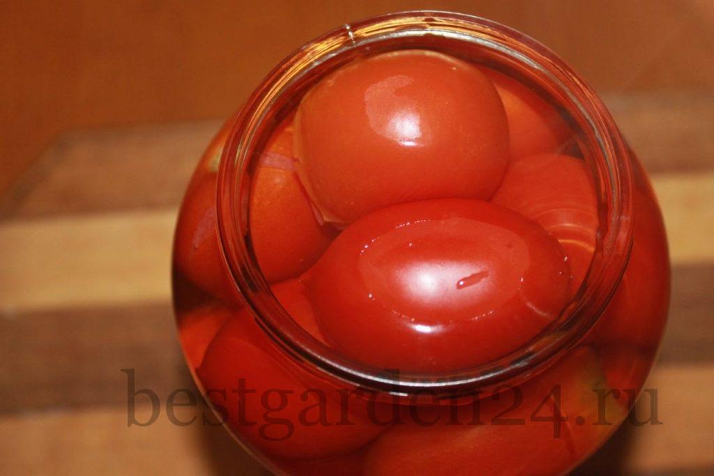 Мариновка помидор