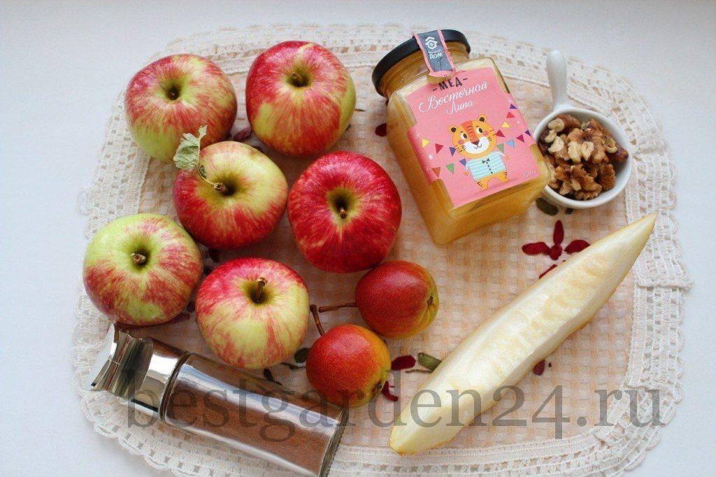Все продукты для запекания яблок