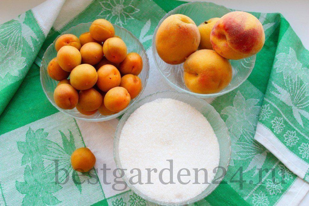 Персики и абрикосы на варенье