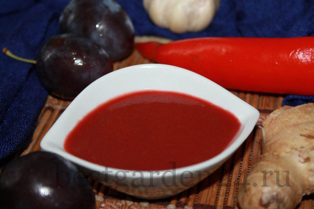 Китайский сливовый соус