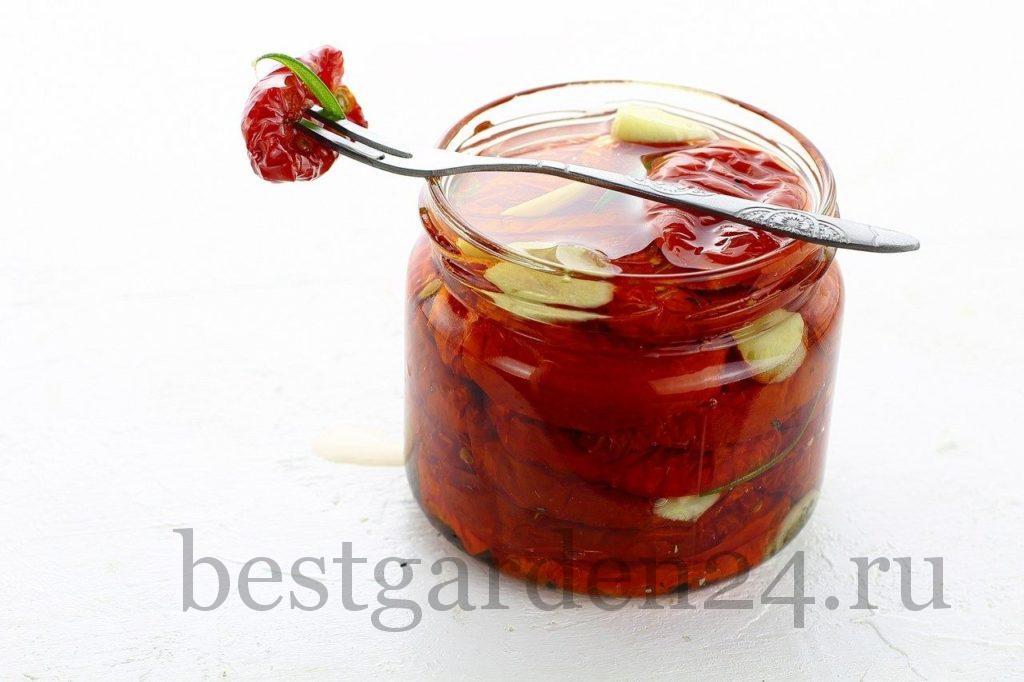 Вкусные вяленые помидоры