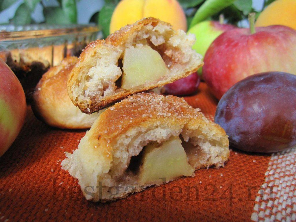 Кусочек яблочного пирога