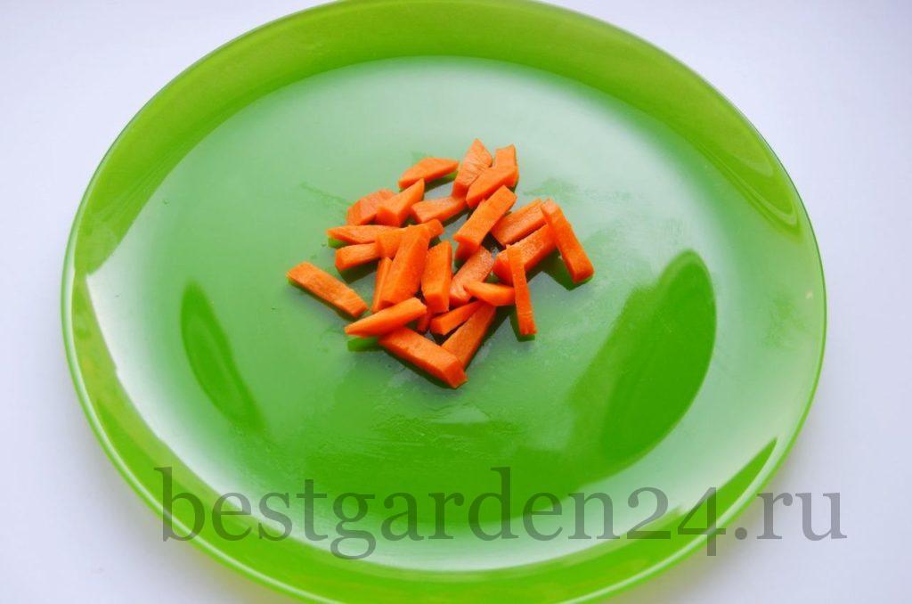 Морковь для салата на зиму