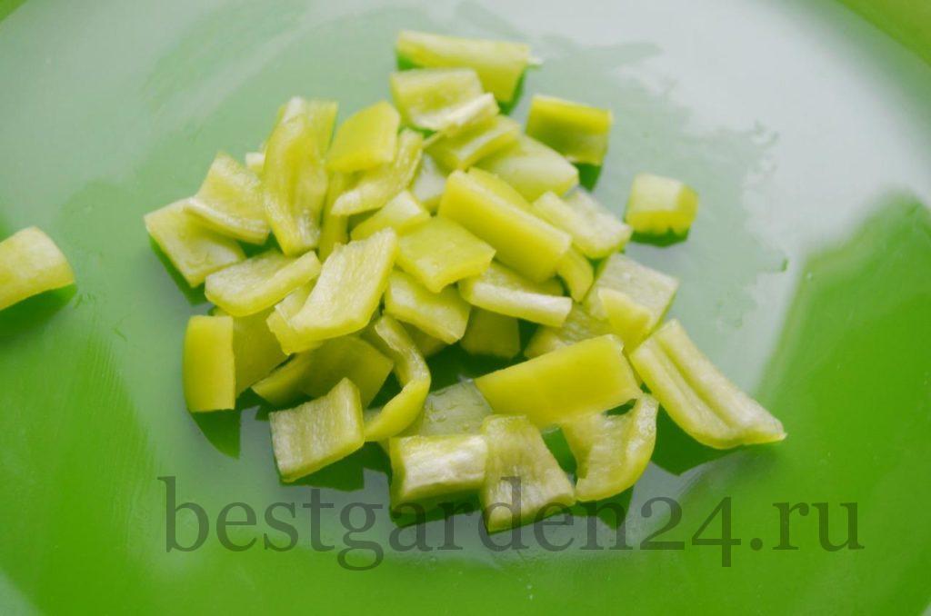 Болгарский перец для салата на зиму