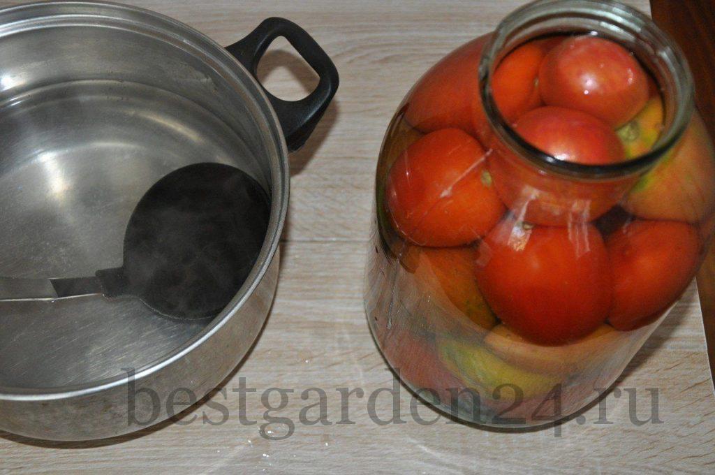 Квасим помидоры на зиму