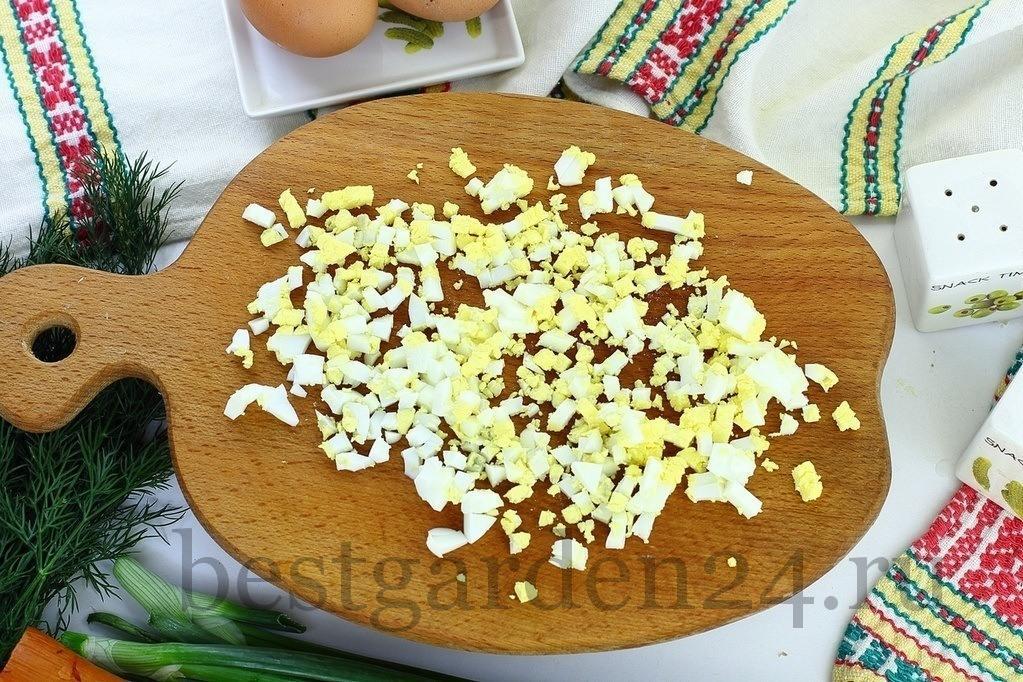 Яйца для окрошки
