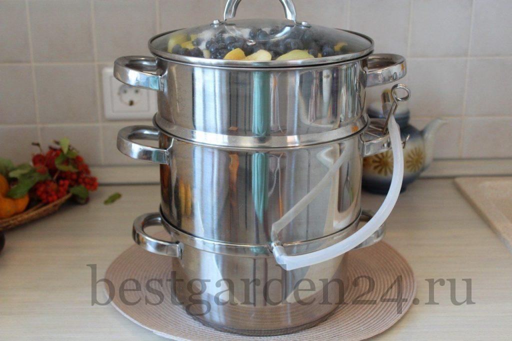 Приготовление сока в соковарке