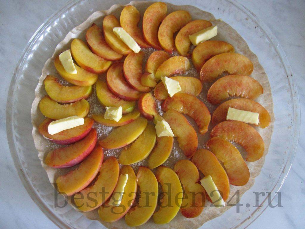 Персики для пирога