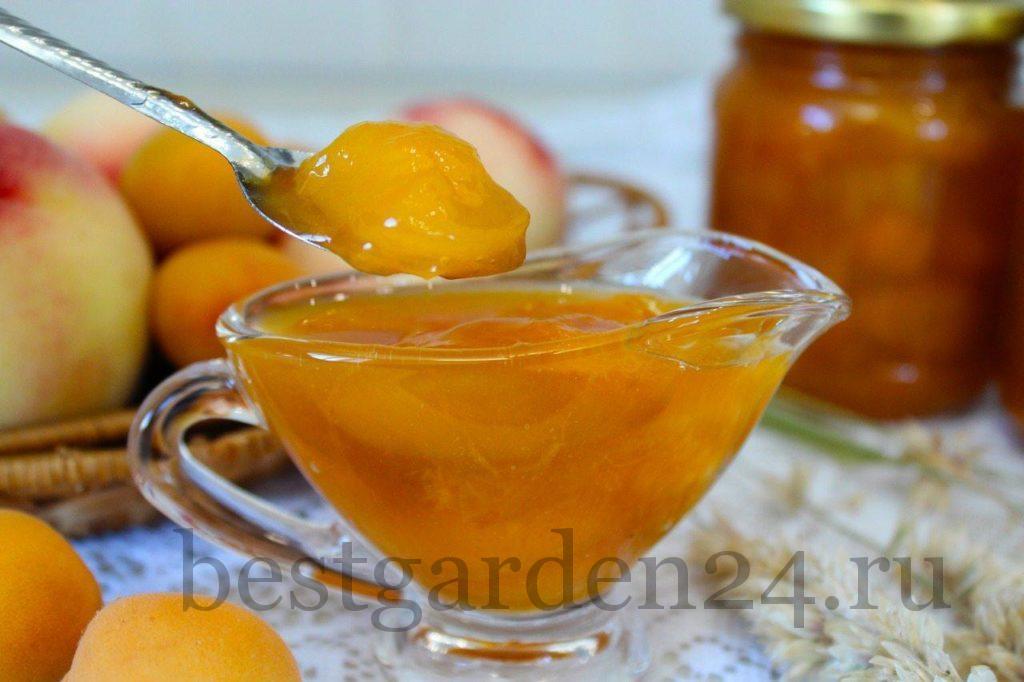 Варенье персиково-абрикосовое