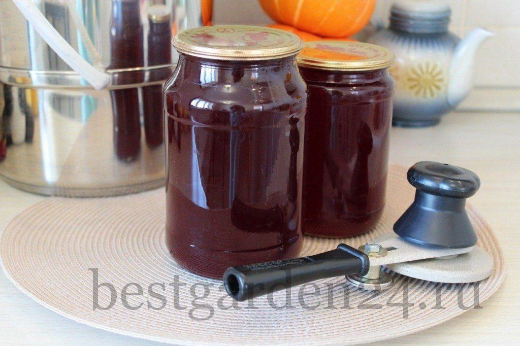 Закупорка сока из винограда и яблок