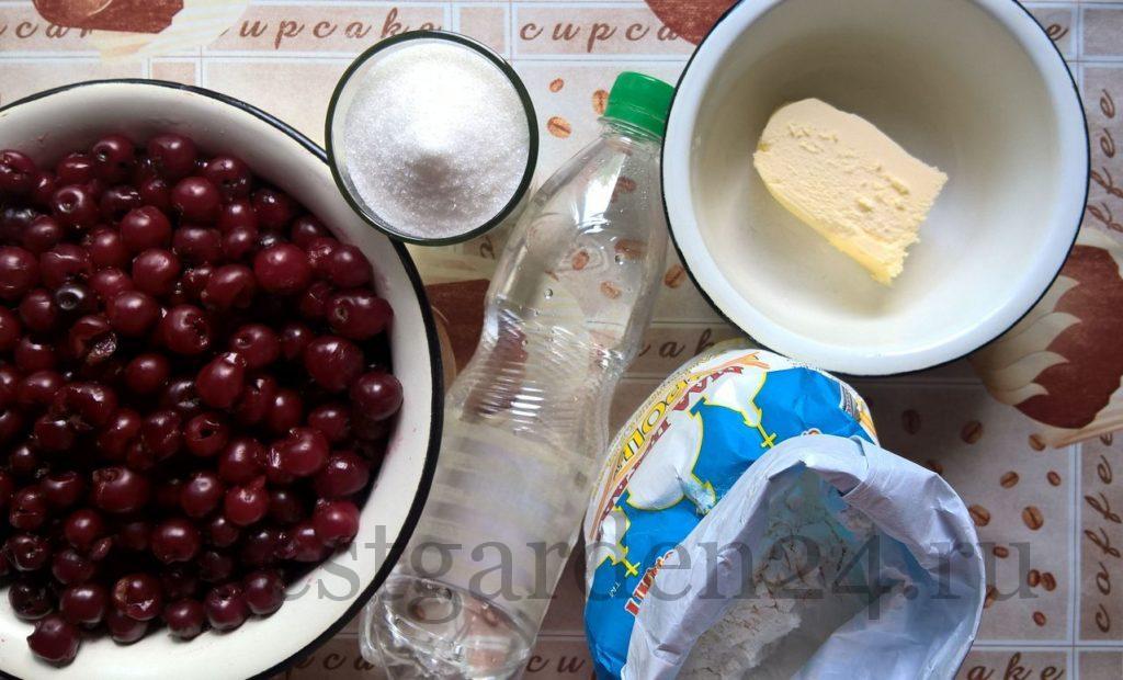 Продукты для выпечки штруделя