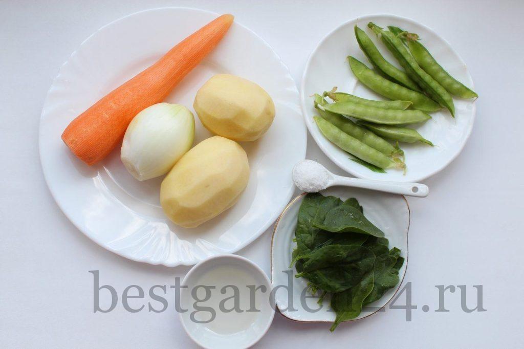 Продукты для крем-супа