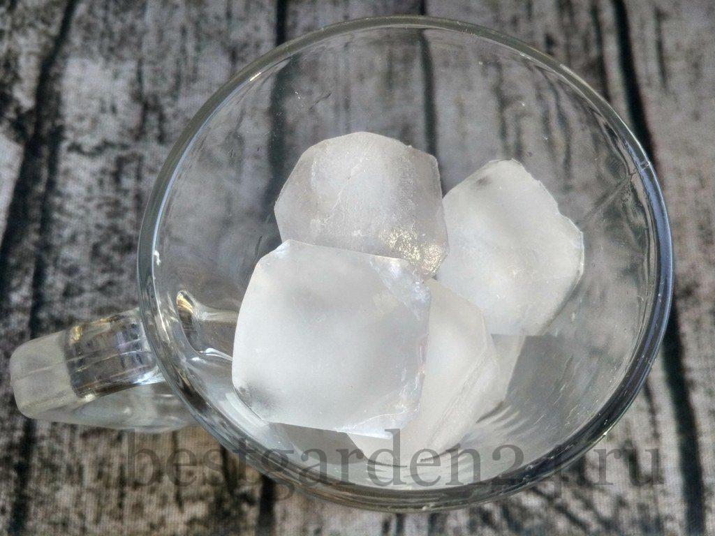 лед для домашнего лимонада