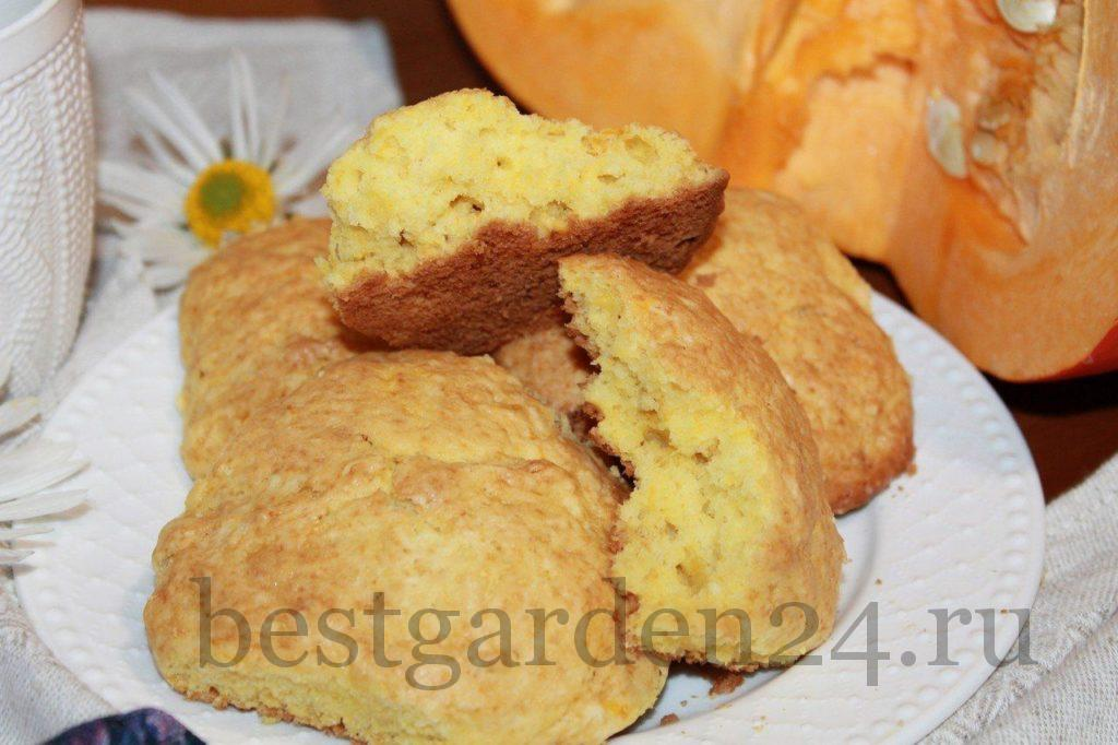 Очень вкусное тыквенное печенье