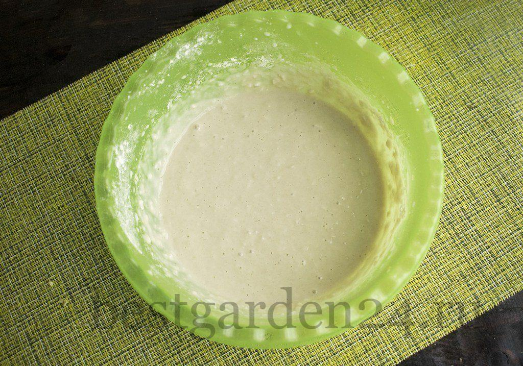 Жидкое тесто для морковных оладьев