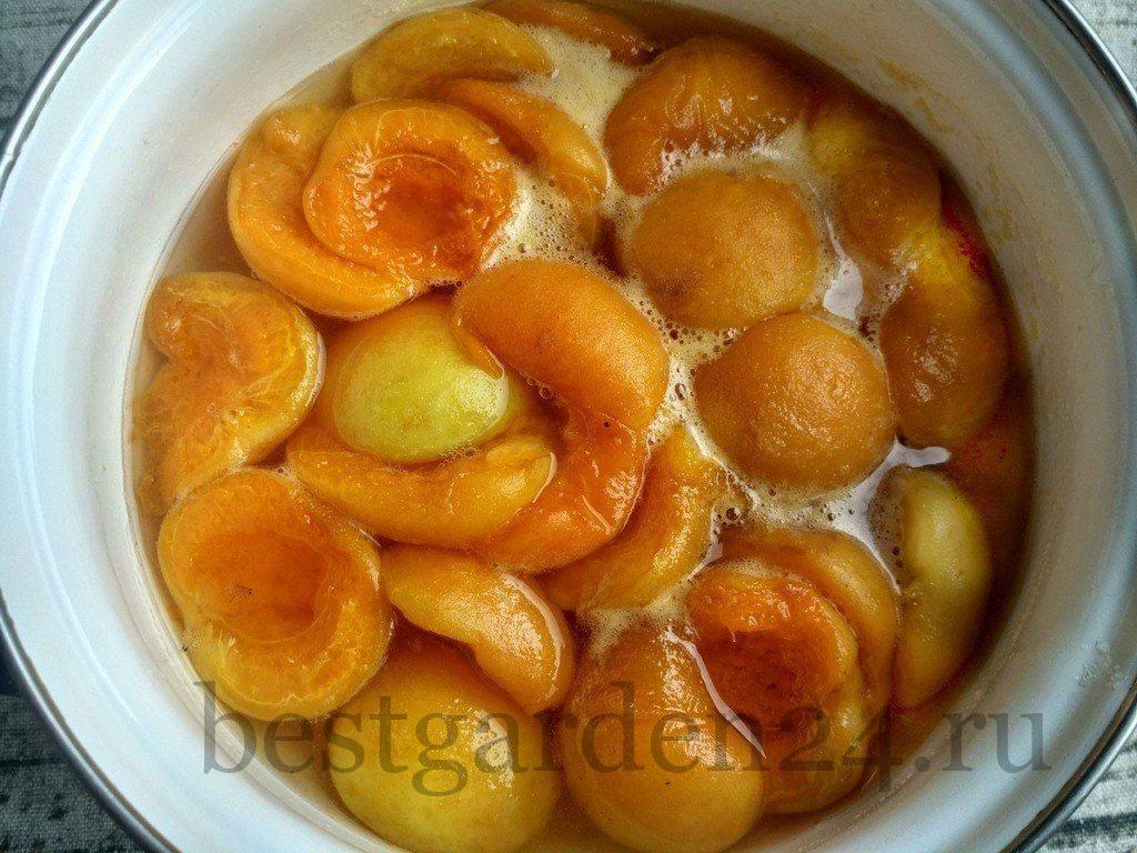 Варенье из абрикосов на тихом огне